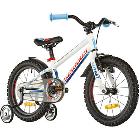 "Serious Superhero 16"" Kinder white/blue"